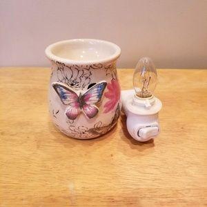 Better Homes & Gardens Accent Warmer - Butterflies